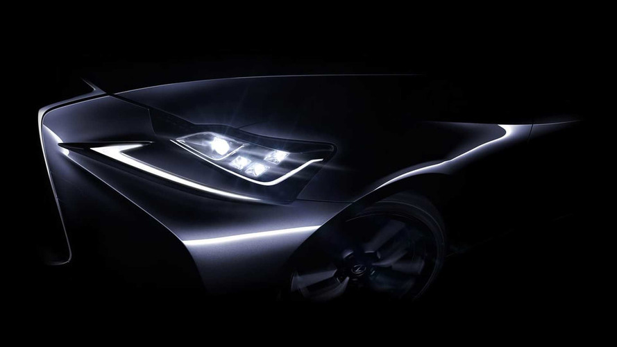 Lexus IS facelift teased for Beijing Auto Show