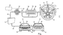 Mercedes-Benz patents water-cooling system for car tires