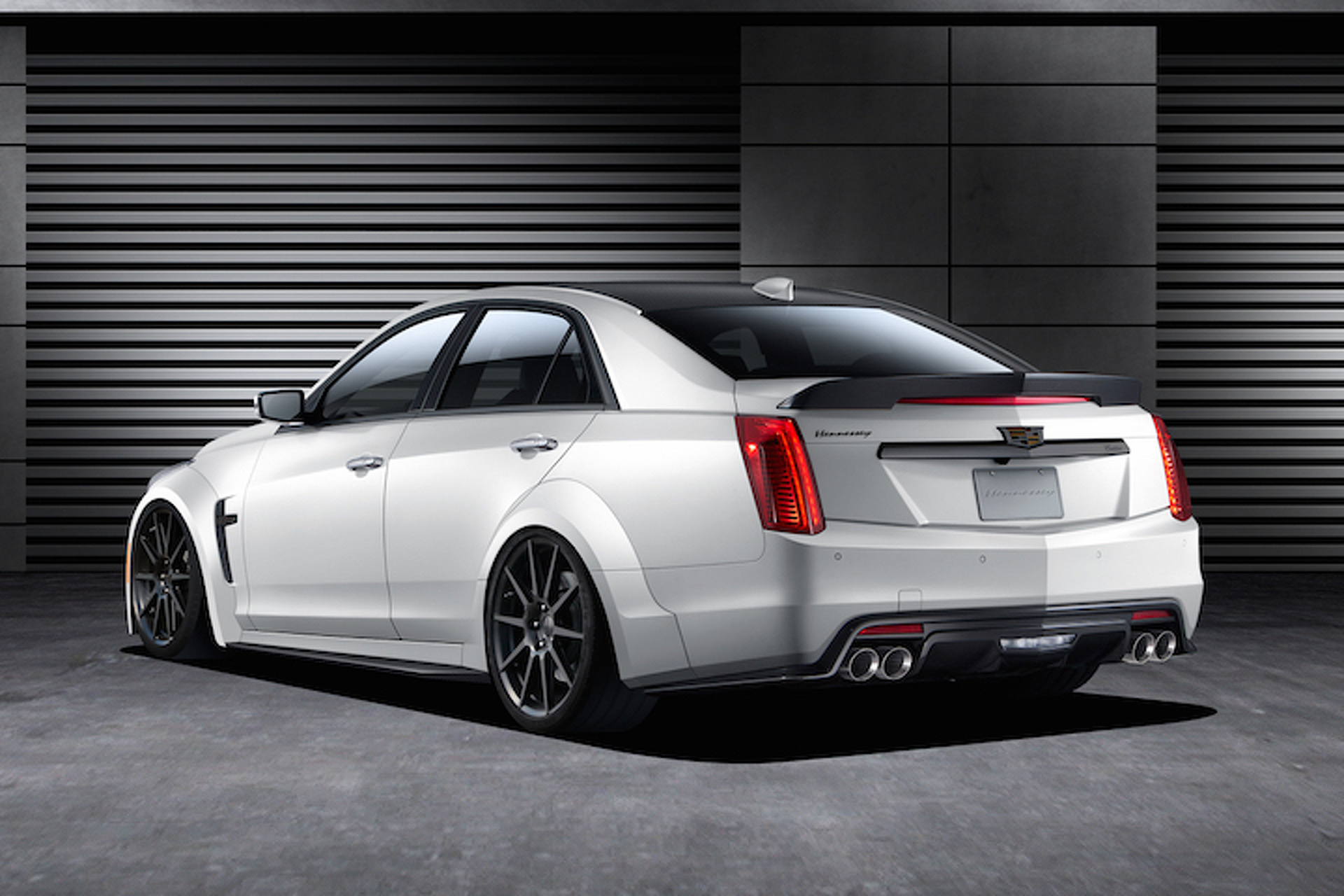 Hennessey Just Unleashed a 1,000HP Cadillac CTS-V Monster
