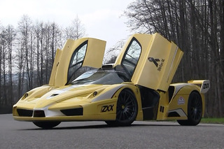 This Ferrari Enzo ZXX is Too Loud to Race