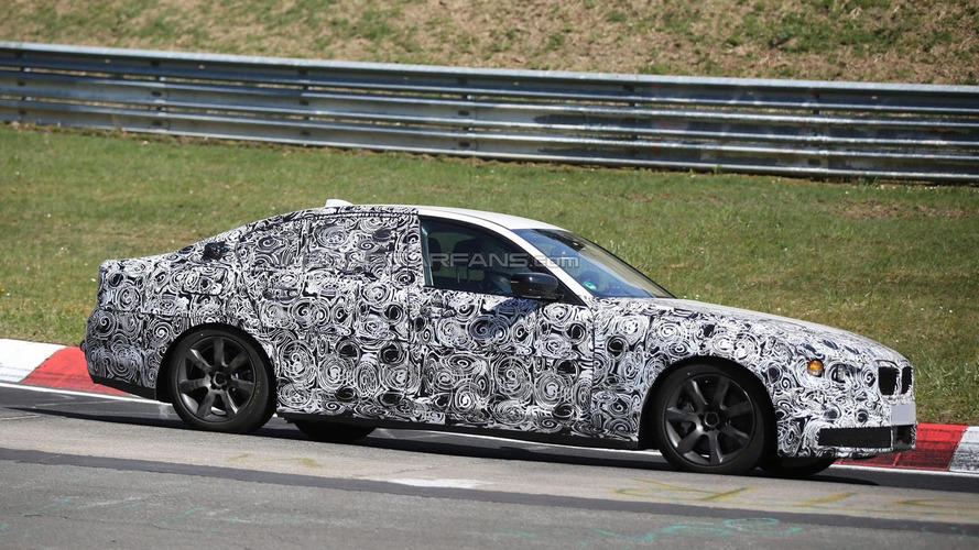 Next generation BMW 5-Series spied testing on the Nurburgring