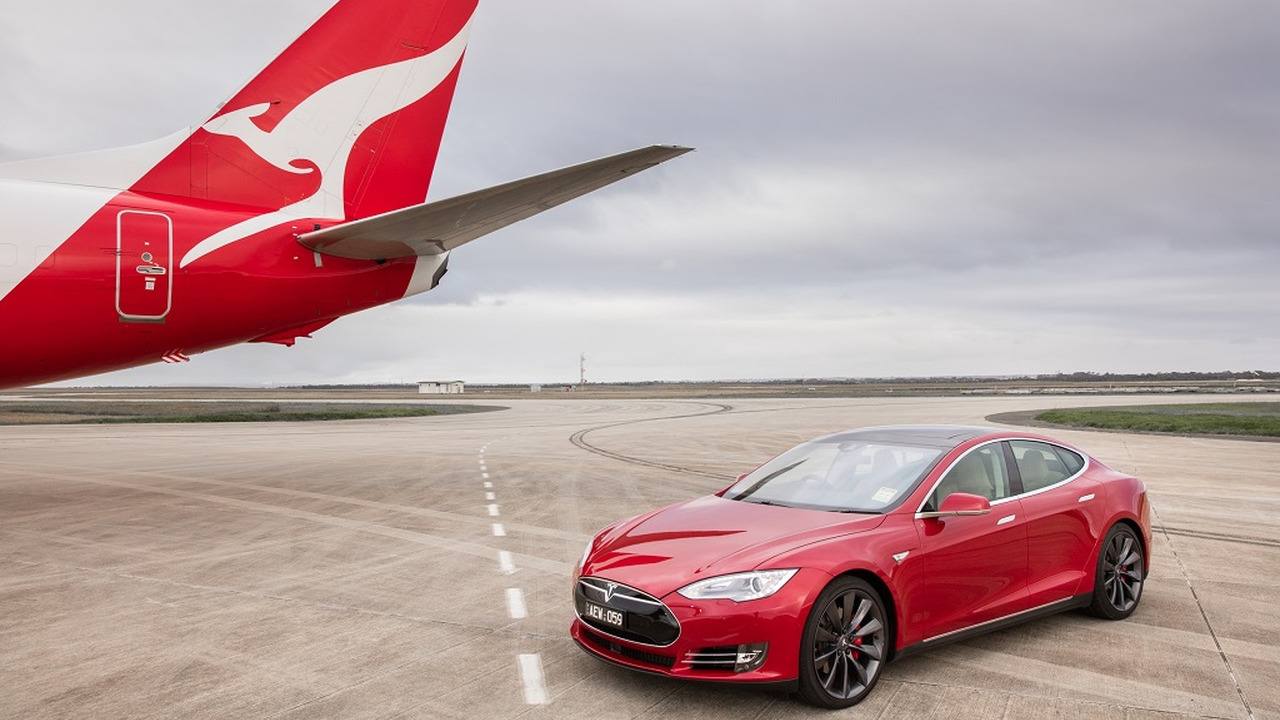 Tesla Model S vs. Boeing 737