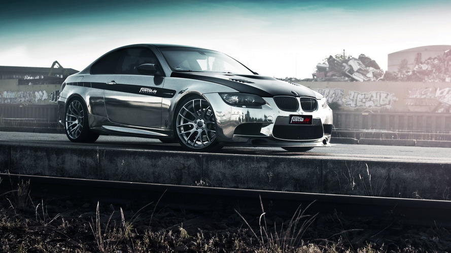 Tuner's shiny chrome BMW M3 Coupe is all show without the extra go