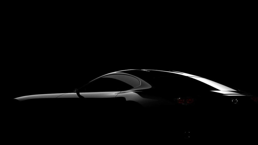 Mazda sports car concept teased for Tokyo