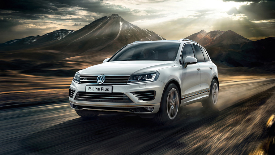 VW Touareg R-Line Plus announced in U.K. for £48,095