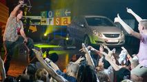 Rapper Jean Paul at Vauxhall Corsa Debut