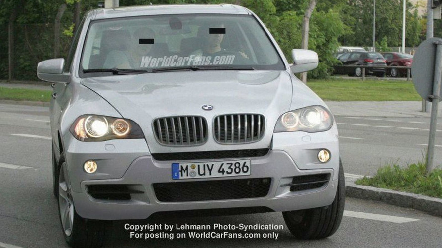 All New BMW X5 Spy Photos