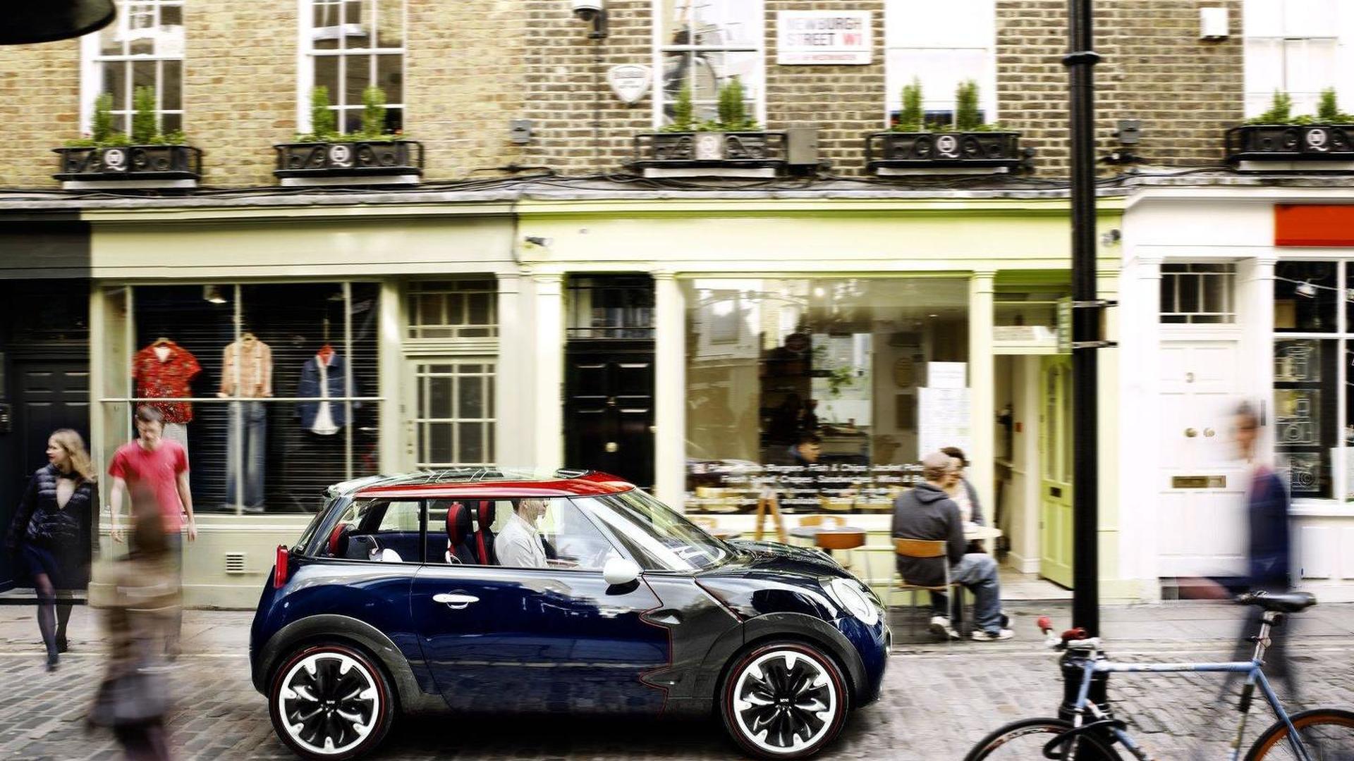 New-Look MINI Rocketman Concept pays tribute to London 2012