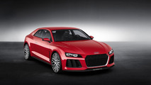 Audi laser lights headed to production models, company says they will beat BMW to market
