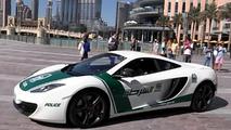 McLaren MP4-12C for the Dubai Police video screenshot