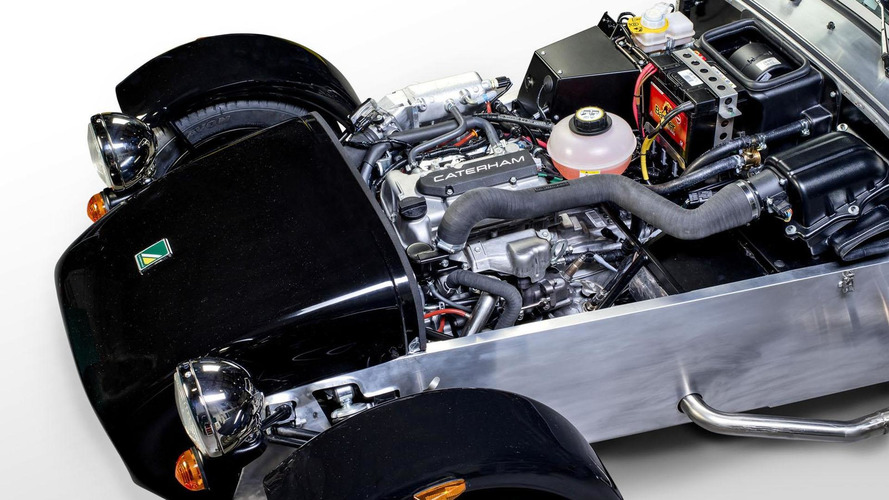 Entry-level Caterham Seven teased with a Suzuki engine