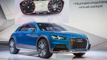 Audi allroad shooting brake concept live in Detriot