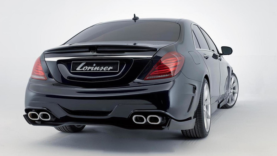 Lorinser tunes the Mercedes S-Class to 530 HP