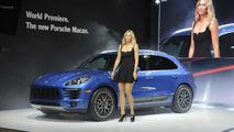 2014 Porsche Macan at Los Angeles Auto Show