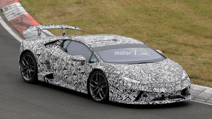 Lamborghini Huracan Performante trademark surfaces, could be Superlegerra Spyder