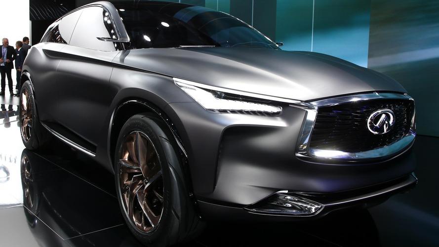 Infiniti QX Sport Inspiration at Paris Motor Show