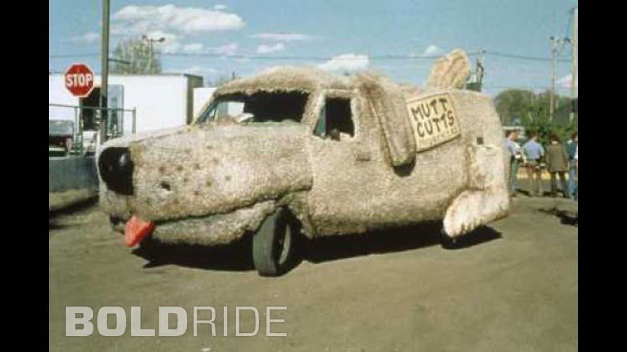 Dumb and Dumber Mutt Cutts Van