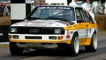 1985 Pikes Peak Audi quattro at Race Retro (UK)