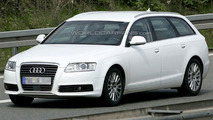 Audi A6 Facelift Spy Photo