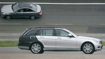 New Mercedes C-Class Estate Spy Photos