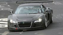 Audi R8 GT3 spy photo on Nurburgring