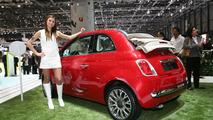 Fiat 500C in Geneva