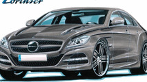 Lorinser teases 2012 Mercedes CLS styling program with design sketch