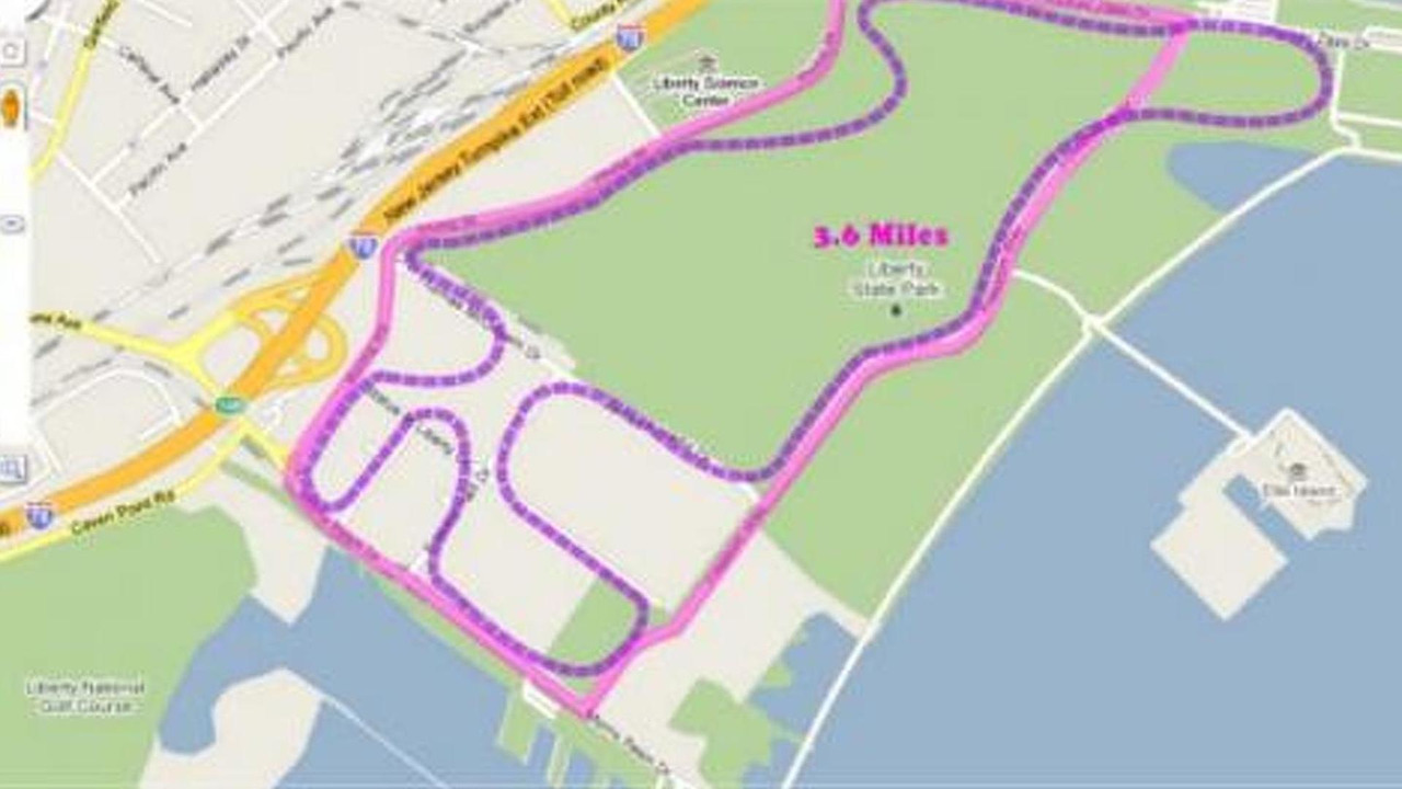 Liberty State Park formula oe race track proposal illustration, Jersey City, New Jersey, US grand prix, 990, 04.05.2010