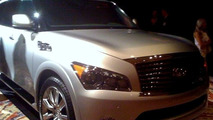 2011 Infiniti QX Spy Photos