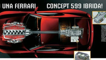 Ferrari 599 Hybrid Confirmed for Geneva Premiere
