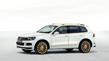 Volkswagen Touareg Gold Edition study 26.01.2011