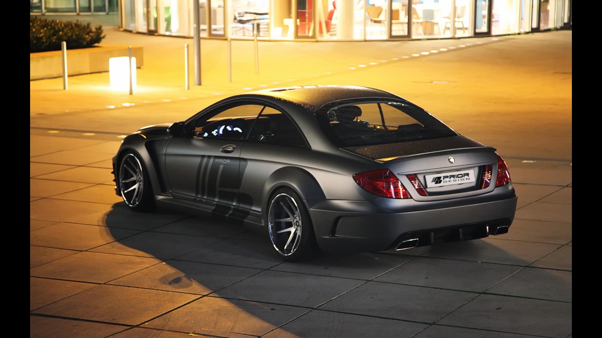 Prior design mercedes benz cl black edition widebody for Mercedes benz black edition