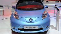 2013 Nissan Leaf live in Geneva 04.3.2013