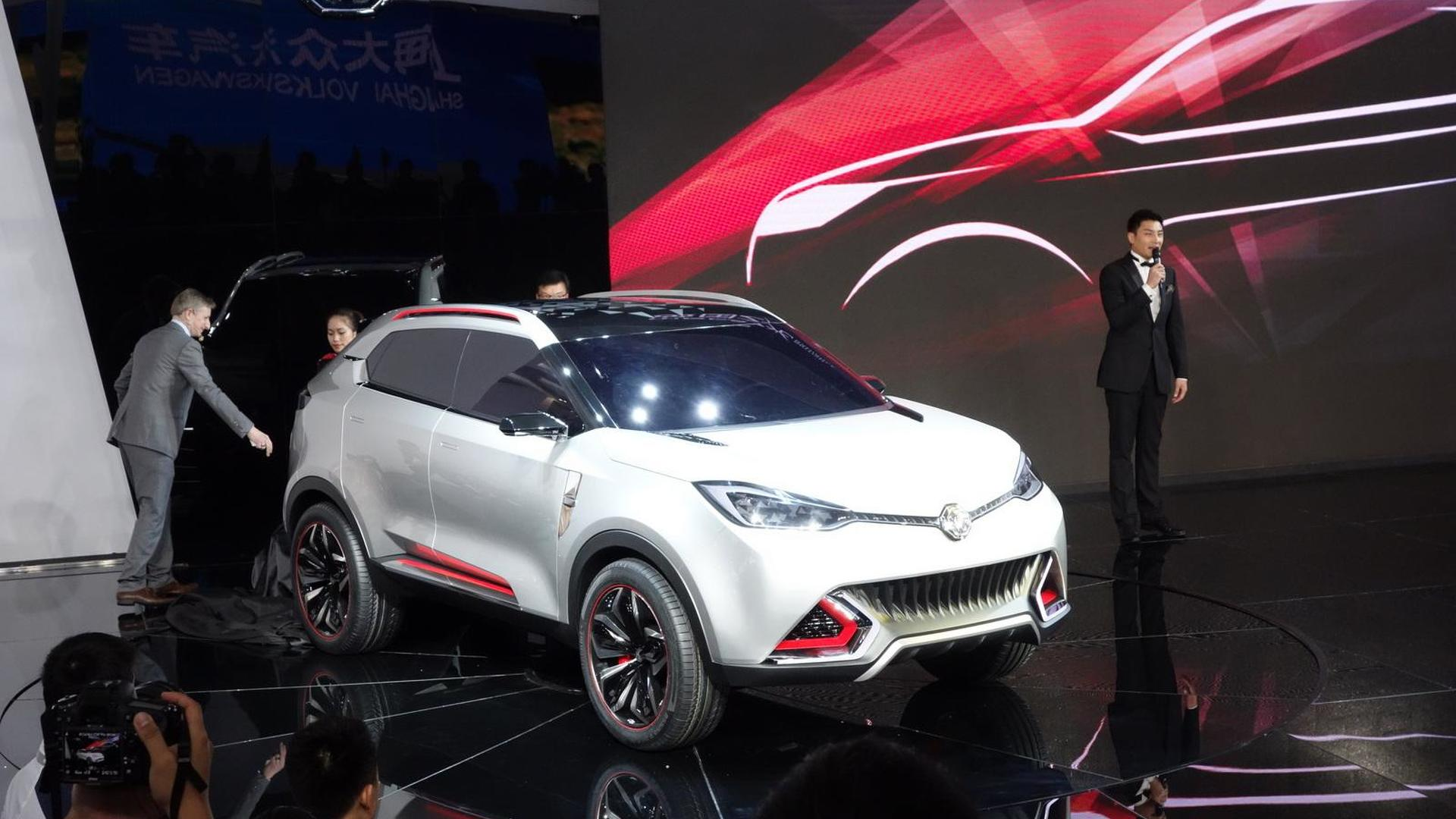 MG CS Concept unveiled in Shanghai