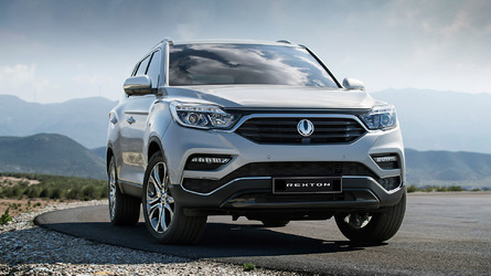 2018 SsangYong Rexton First Offical Images Are Out