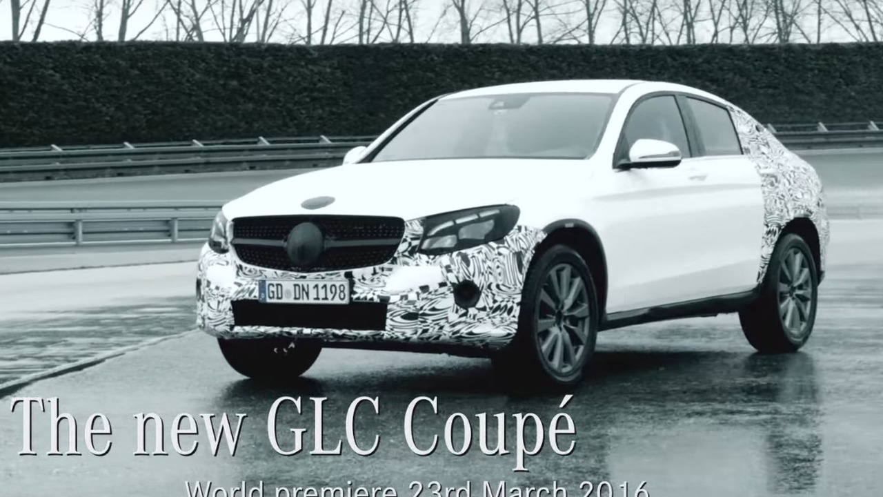Mercedes GLC Coupe teaser image