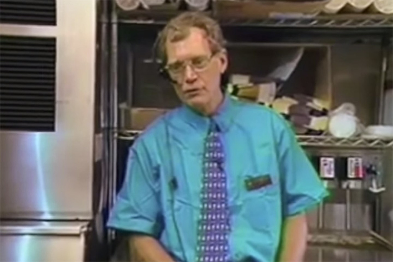Watch David Letterman Make People Uncomfortable Working the Taco Bell Drive-Through