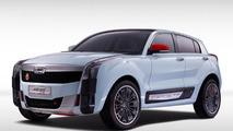 Qoros 2 SUV PHEV Concept arrives in Shanghai