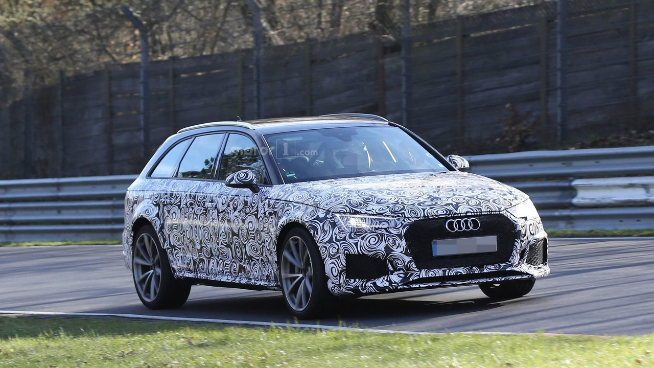2017 Audi RS4 Avant spy photo