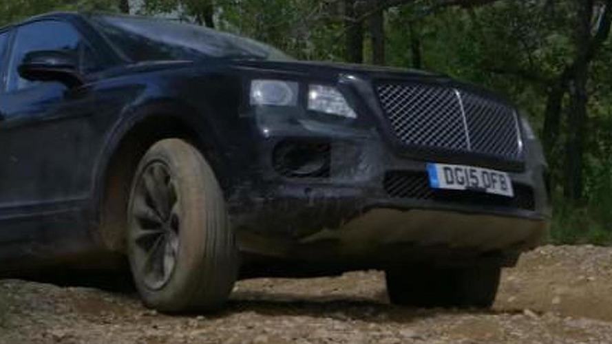 Bentley Bentayga goes off-roading in latest teaser [video]