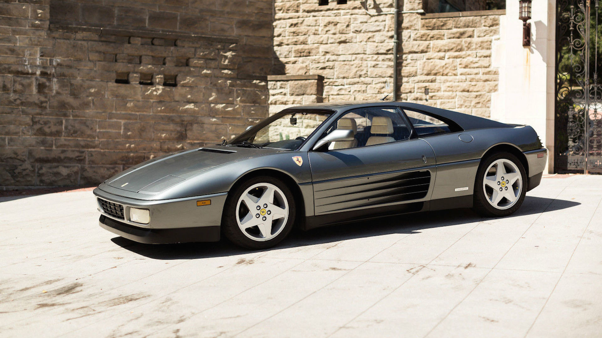 1990 ferrari 348 ebay find more grown up in grigio. Black Bedroom Furniture Sets. Home Design Ideas