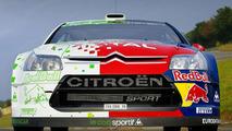 Citroen C4 WRC HYmotion4 Concept