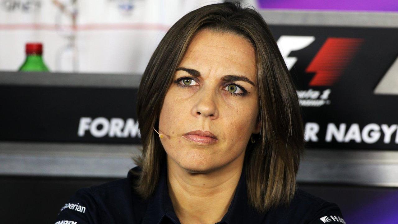 Claire Williams 26.07.2013 Hungarian Grand Prix