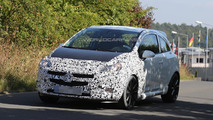 2014 Opel Corsa OPC Facelift prototype spy photo
