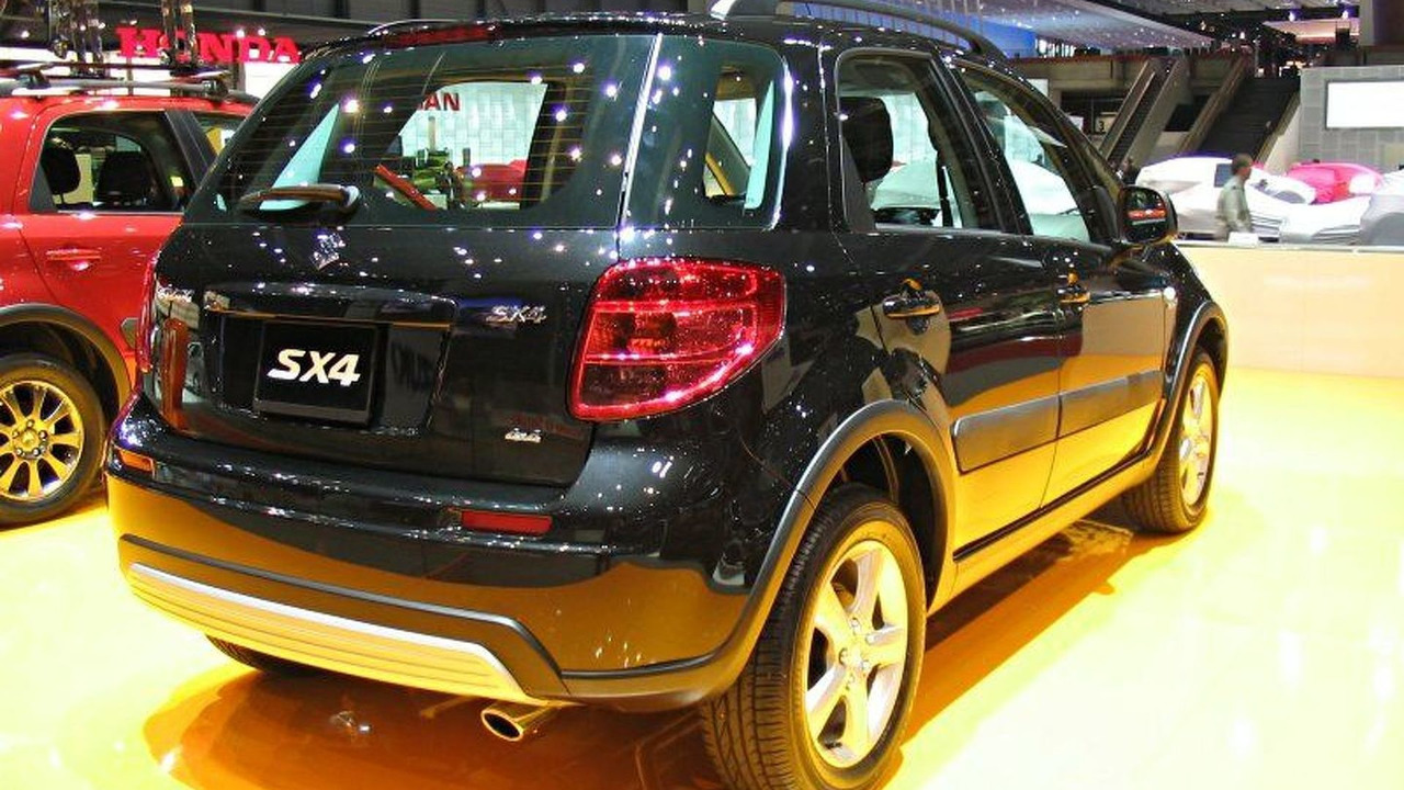 Suzuki SX4 at Geneva Auto Salon