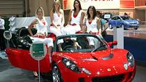 Lotus Elise S at British Motor Show