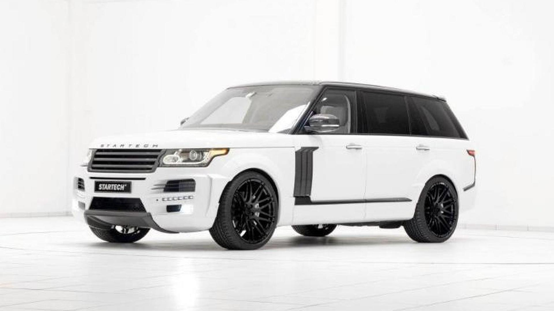 Startech previews their widebody kit for the Range Rover LWB