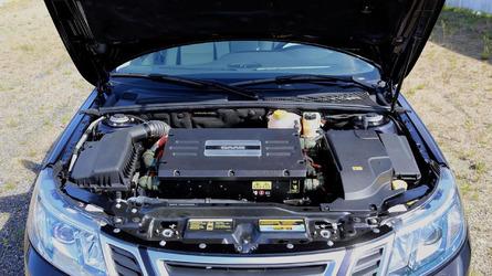 Saab 9-3 EV prototype unveiled