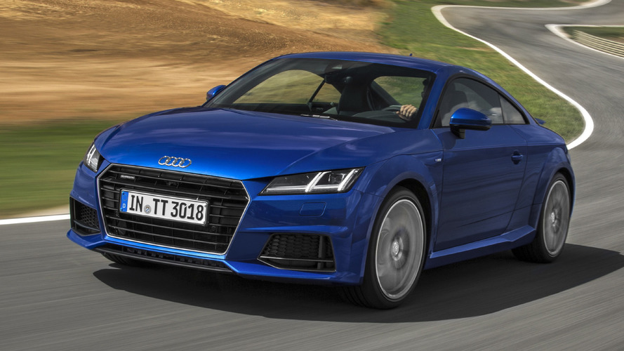 Audi's 2.0 TDI TT now can have the Quattro system as well