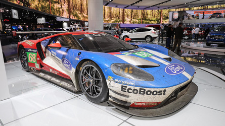 Check out all the race cars at the 2017 Detroit Auto Show